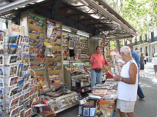Cómo montar un puesto de periódicos - Puesto de revistas