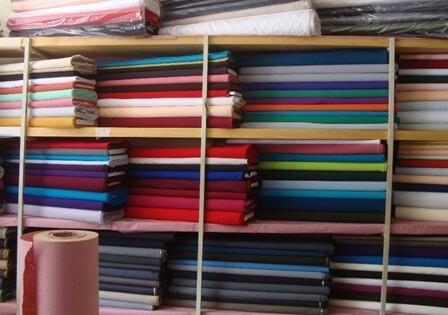 montar una tienda de telas
