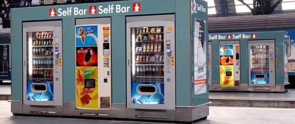 iniciar un negocio de máquinas expendedoras