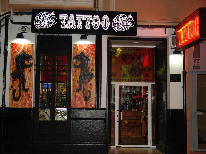 Tienda de tatuajes