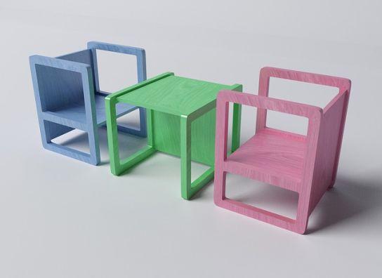 negocio de fabricación de sillas y mesas