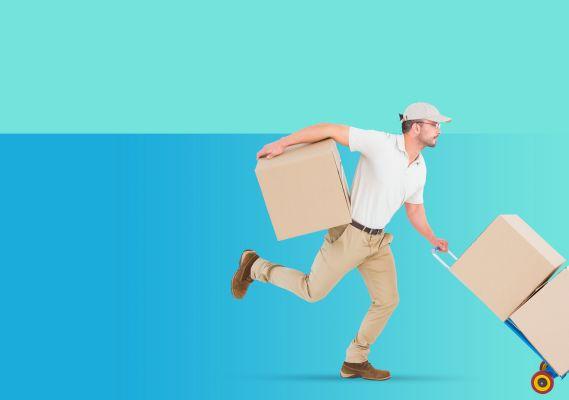 Tienda de mensajeria y paqueteria