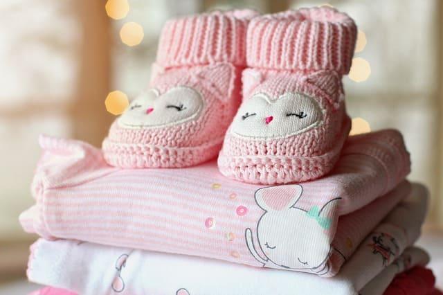 Ropa usada para bebés