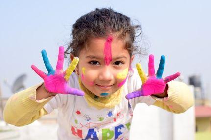 Servicio de maquillaje de fantasía para niños