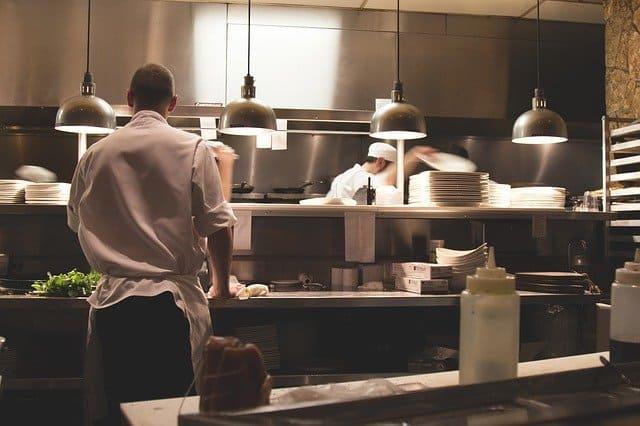 Funcionamiento de un negocio de cocinero a domicilio