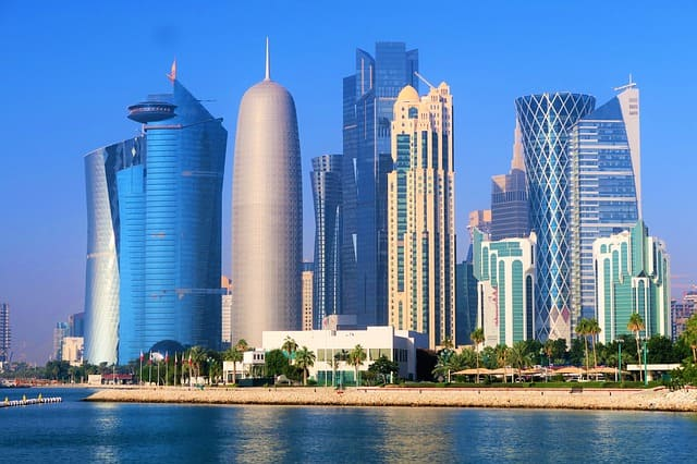 productos que exporta Qatar